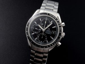 Lot #5603 – Omega Speedmaster Date Chronograph Watch 3210.50 Omega Omega 3210.50.00