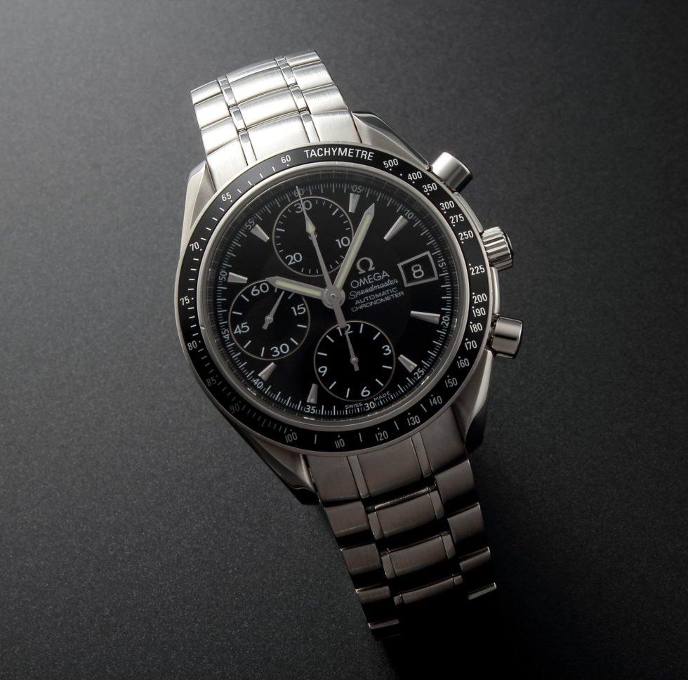 Lot #5603 – Omega Speedmaster Date Chronograph Watch 3210.50 Omega Omega 3210.50.00