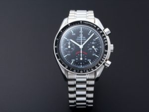 Lot #4838 – Limited Edition Omega Speedmaster A.C. Milan 3510.51 Omega Omega 3510.51.00