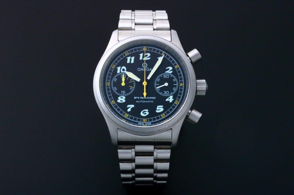 Lot #5604 – Omega Dynamic Automatic Chronograph Watch 5240.50 Dynamic Omega 5240.50.00