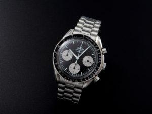 Lot #5670 – Rare and Unusual Omega Speedmaster Panda Watch 3510.52 Omega Omega 3510.52.00