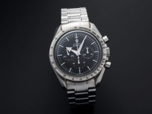 Lot #5607 – Omega Speedmaster Broad Arrow Watch 3594.50 Moon Chronograph