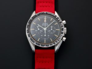 Lot #7626 – Omega Speedmaster Professional Moon Watch 145.012-67 SP Caliber 321 145.012-67 SP Chronograph