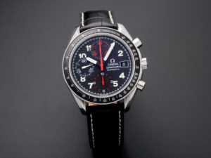 Lot #5620 – Special Edition Omega Speedmaster Mark 40 Watch 3513.53 Omega Omega Japanese Market
