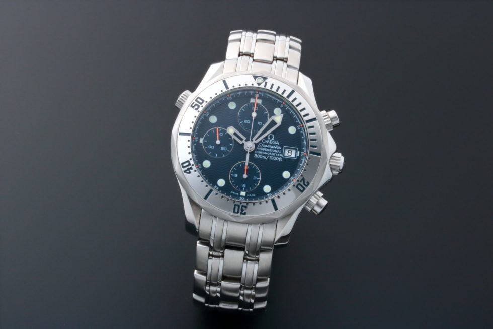 Lot #5628 – Omega Seamaster Professional Date Chronograph Watch 2598.80 Omega Chronograph