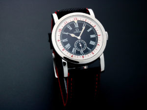 Lot #5629 – Omega Museum Pilot Special Edition Watch 5161.34.11.00.10.01 Museum Collection Omega
