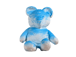 Lot #5185 – Daniel Arsham Cracked Bear Blue Limited Edition Art Toys Daniel Arsham Cracked Bear