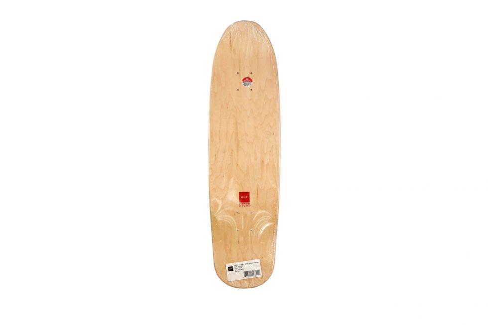 Lot #4240 – Barry McGee x Huf Cruiser Skateboard Deck Skateboard Decks Barry McGee Cruiser