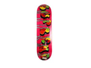 Lot #9707 – Blade x Supreme Whole Car Pink Skateboard Deck Skateboard Decks Skateboard Deck
