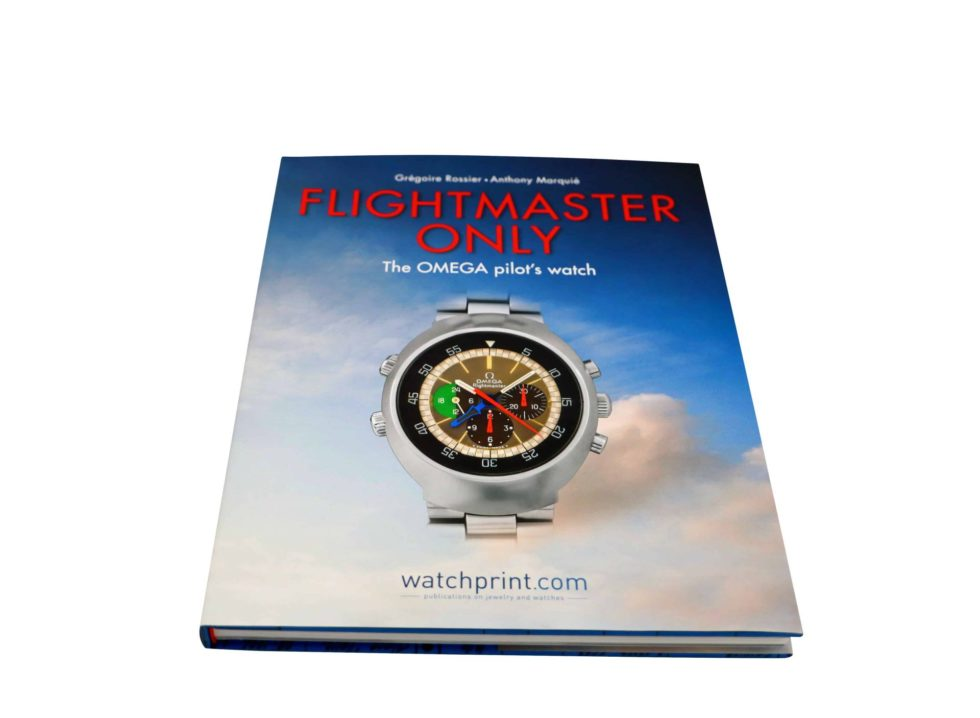 Lot #10000 – Flightmaster Only The OMEGA Pilots Watch Book by Anthony Marquie and Gregoire Rossier Collector's Bookshelf Anthony Marquie