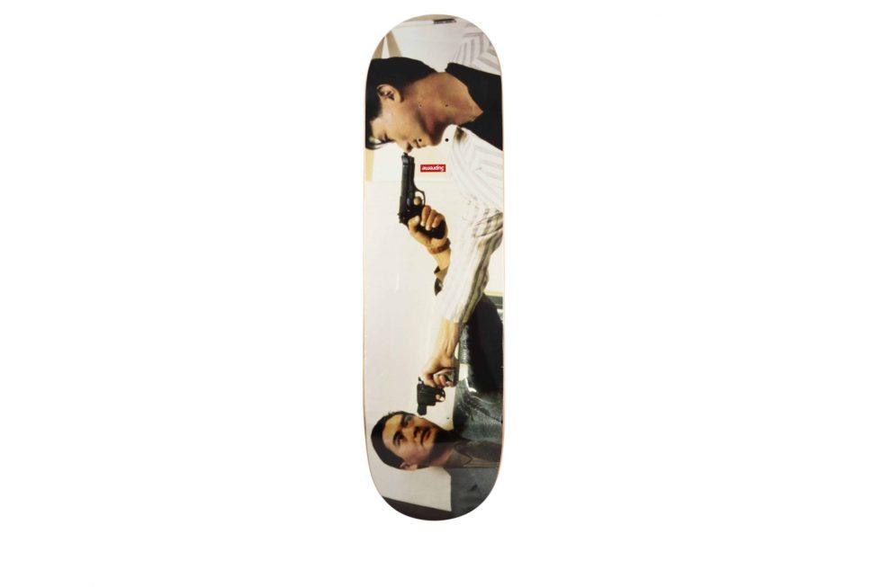 Lot #4245 – John Woo x Supreme The Killer Skateboard Deck Skateboard Decks Chow Yun Fat