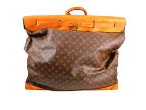 Lot #9627 – Louis Vuitton Jumbo Steamer 65 Bag Monogram Travel Boston Bags Louis Vuitton