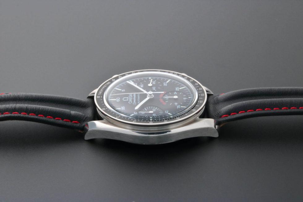 Lot #5624 – Limited Edition Omega Speedmaster A.C. Milan Watch 3810.51.41 Omega Omega 3510.51.00