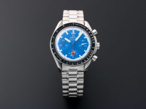 Lot #5627 – Omega Speedmaster Blue Cart Schumacher Watch 3510.80 Omega Omega 3510.80.00