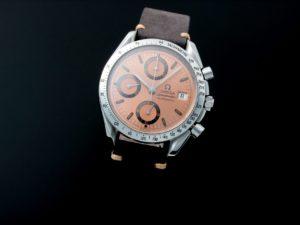 Lot #10966 – Rare Omega Speedmaster Date 40th Anniversary Grand Prix Watch 3511.60 3511.60 Chronograph