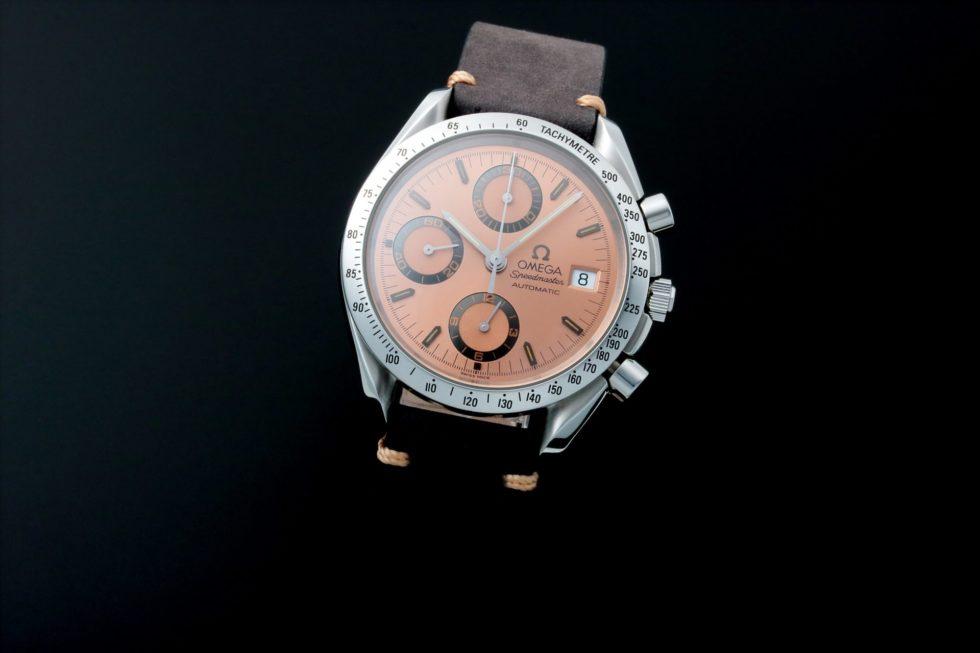Lot #5617 – Rare Omega Speedmaster Date 40th Anniversary Grand Prix Watch 3511.60 Omega Chronograph