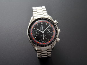 Lot #5621 – Omega Speedmaster Racing Schumacher Watch 3518.50.00 Omega Limited Edition Omega Speedmaster