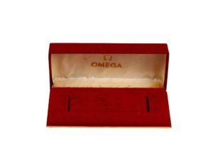 Lot #4930c – Vintage Red Omega Watch Box Omega Omega