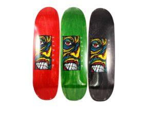 Lot #5827 – Sean Cliver x Supreme Skateboard 3 Deck Set Skateboard Decks Deck Set