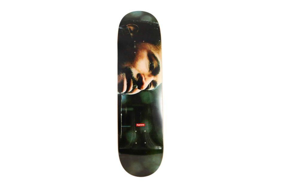 Lot #7272 – Supreme Marvin Gaye Skateboard Deck Skateboard Decks Deck