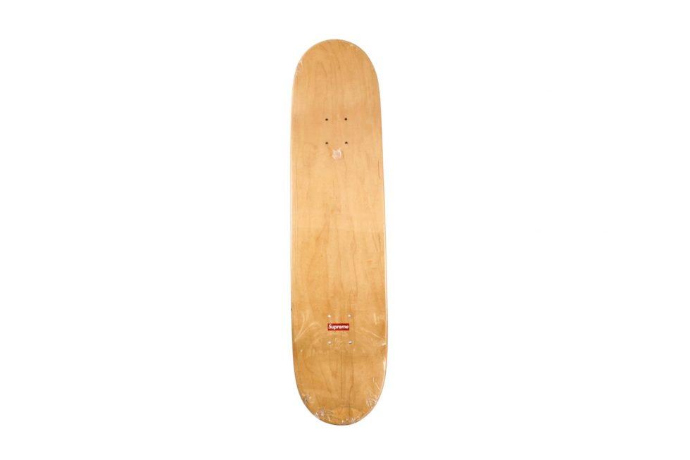Lot #9802– Supreme Motion Logo Red Skateboard Deck Skateboard Decks Skateboard