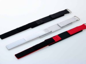 Lot #5685 – Set of 3 Canvas Watch Straps With Velcro 20MM 20mm Straps Omega Bracelets