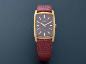 Lot #6205 – Girard Perregaux 18K Yellow Gold Vintage Watch 9096 GA Girard Perregaux Girard Perregaux