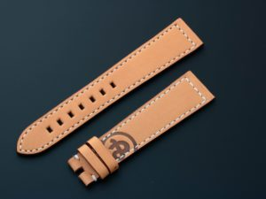 Lot #3979 –  Bell & Ross Leather Watch Strap 22MM Bell & Ross Bell & Ross Watch Band