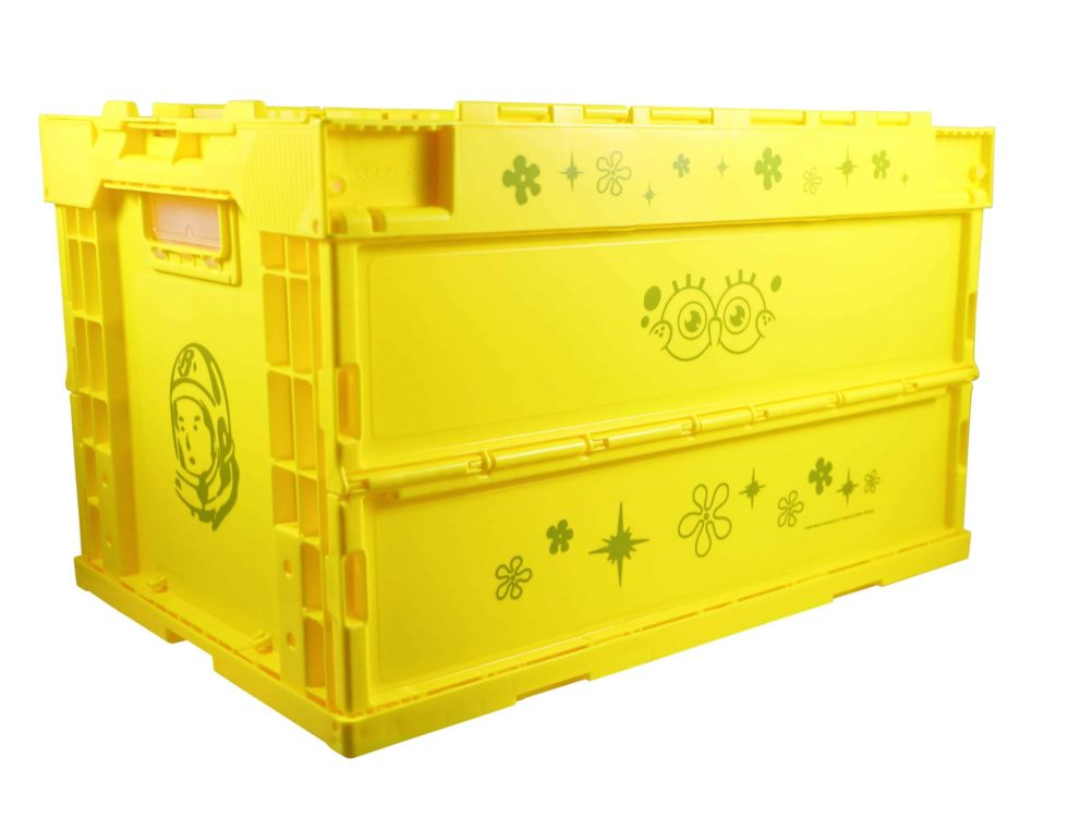 BBC x Spongebob Storage Cart Container Yellow e – Baer Bosch Auctionee