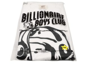 Lot #9873 – Billionaire Boys Club Split Helmet T-Shirt XXL White Billionaire Boys Club Billionaire Boys Club