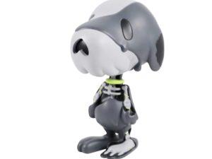Lot #5806 – Cote Escriva Creepy Snoop Grey Figure Art Toys Cote Escriva