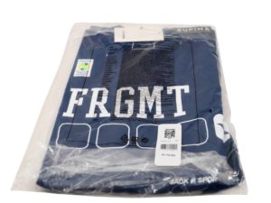Lot #7444 – Fragment x Converse T-Shirt Blue Size XL [category] Fragment