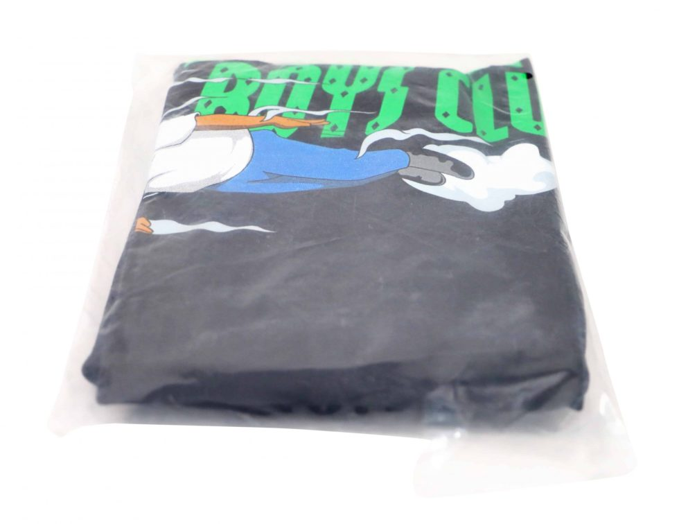 Lot #7167 – Hebru Brantley x Billionaire Boys Club Flyboy T-Shirt Black XL [category] Hebru Brantley