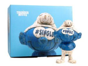 Lot #5757 – Laurence Vallieres x Thunder Mates Single Polyresin Figure Art Toys Laurence Vallieres
