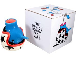 Lot #5742 – Piet Parra The Upside Down Face Vase Helmet Rarities Piet Parra