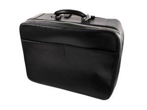 Lot #9074 – Valextra Avietta 48 Hour Travel Bag Black Leather Bags Valextra Avietta