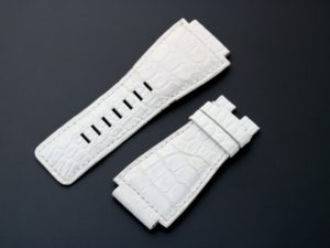 Lot #3993 – Bell & Ross Alligator Watch Strap 24mm Bell & Ross Bell & Ross Leather Watch Strap