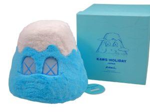 Lot #5781 – KAWS Holiday Japan Mount Fuji Plush Blue Art Toys KAWS