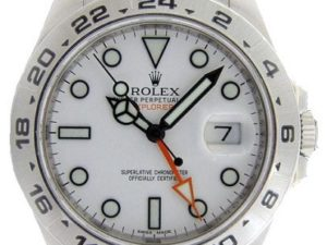 Lot #4892 – Rolex Explorer II Watch 216570 Explorer II Rolex 216570