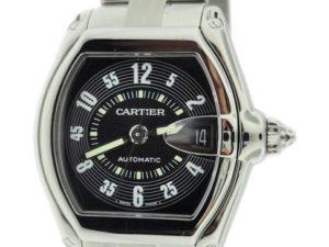Lot #4924 – Cartier Roadster Black Dial Watch W62004V3 Cartier Cartier Roadster