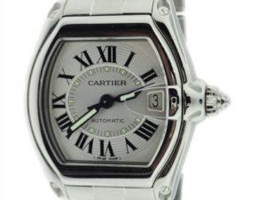 Lot #4839 – Cartier Roadster Watch 2510 Stainless Steel Cartier Cartier 2510
