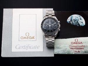 Lot #4831 – Limited Edition Omega Speedmaster Apollo 11 Moon Watch 145.0022 Omega Omega 145.0022