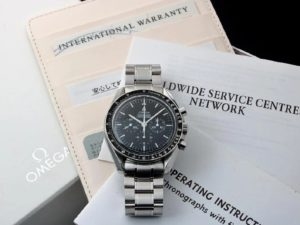 Lot #4869 – Limited Omega Speedmaster Moon Galaxy Express Watch 3571.50 Omega Omega 3571.50