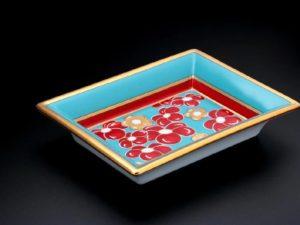 Lot #4850 – Patek Philippe Limoges Vide Poche Valet Tray Porcelain Trays Patek Philippe