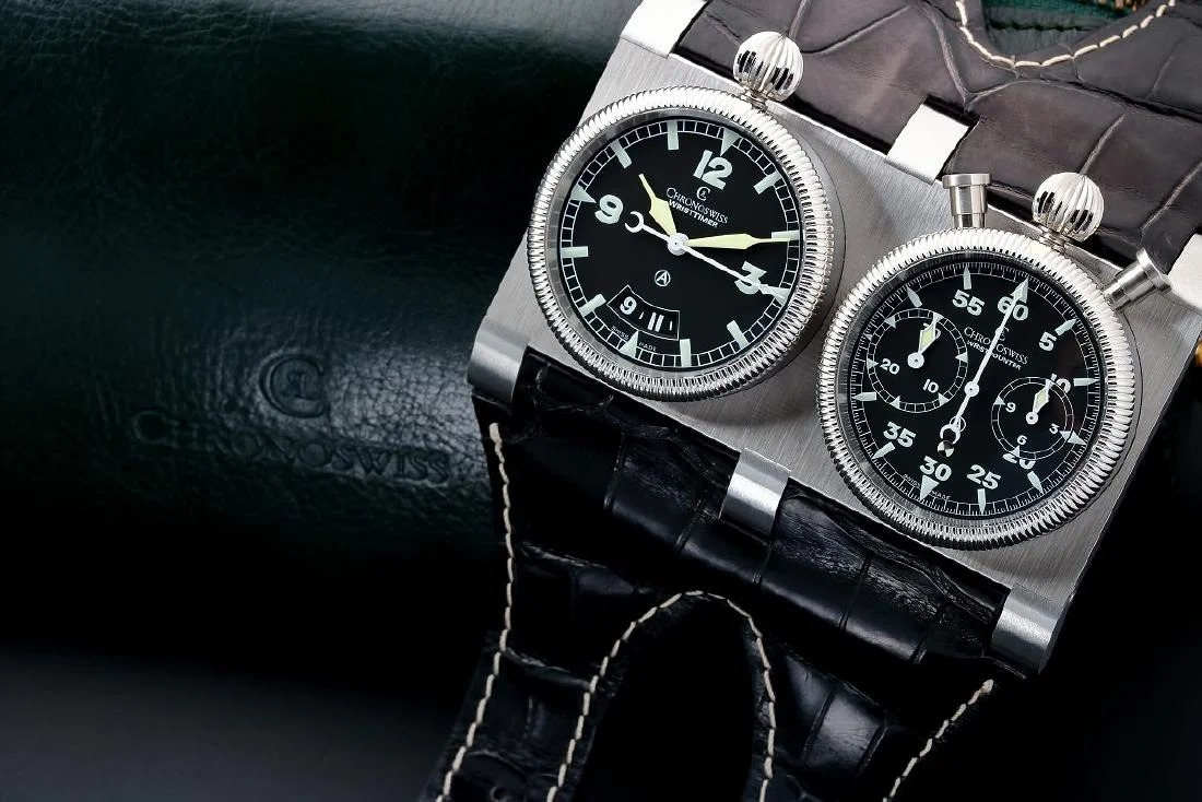 Chronoswiss Wristmaster Watch CH2703 – Baer & Bosch Auctioneers