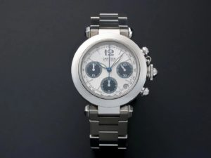 Men`s Cartier Pasha C Chronograph Watch. - Baer & Bosch Auctioneers