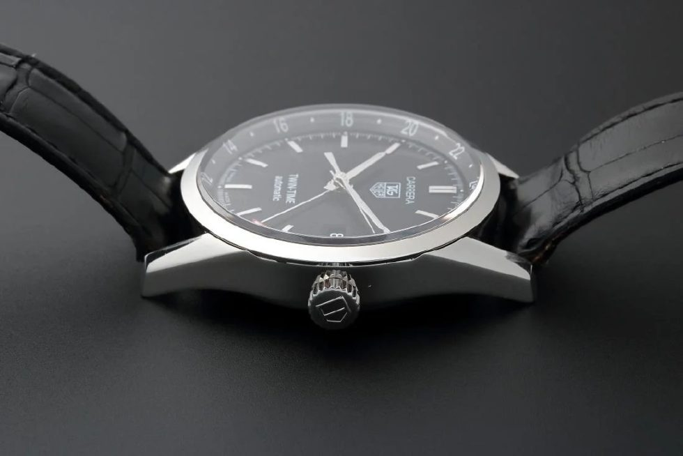 Lot #7757 – Tag Heuer Twin Time Carrera GMT Watch WV2115.FC6180 Tag Heuer Tag Heuer WV2115.FC6180