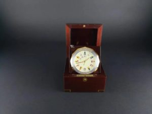 Corum Admiral`s Cup Table Desk Clock - Baer & Bosch Auctioneers
