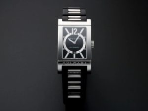 Lot #4921 – Gents Stainless Steel Bvlgari Rettangolo Watch #RT45S Watches [tag]