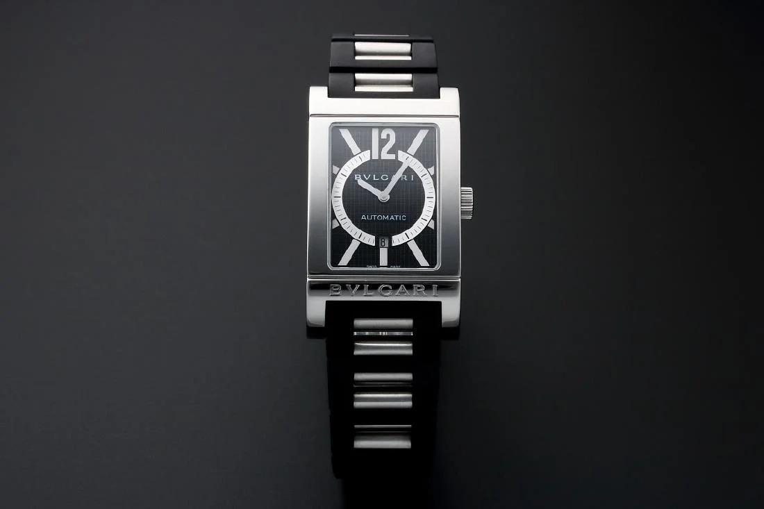 Gents Stainless Steel Bvlgari Rettangolo Watch #RT45S – Baer & Bosch Auctioneers